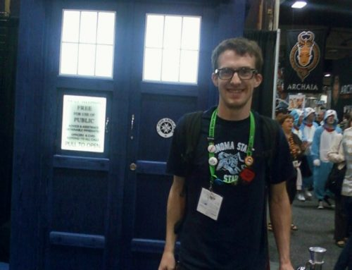 Mr. Reece Goes to Comic-Con