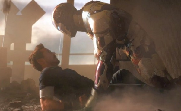Iron Man saves Tony